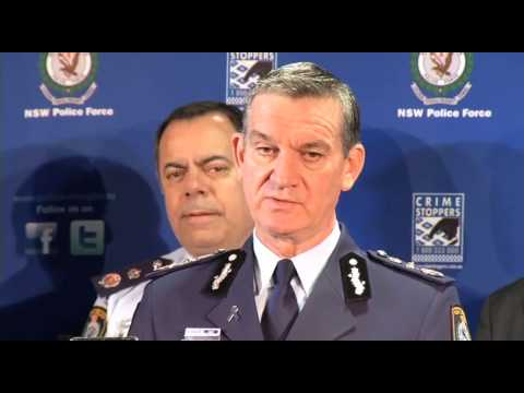 Police Commissioner Andrew Scipione: update on death of police officer