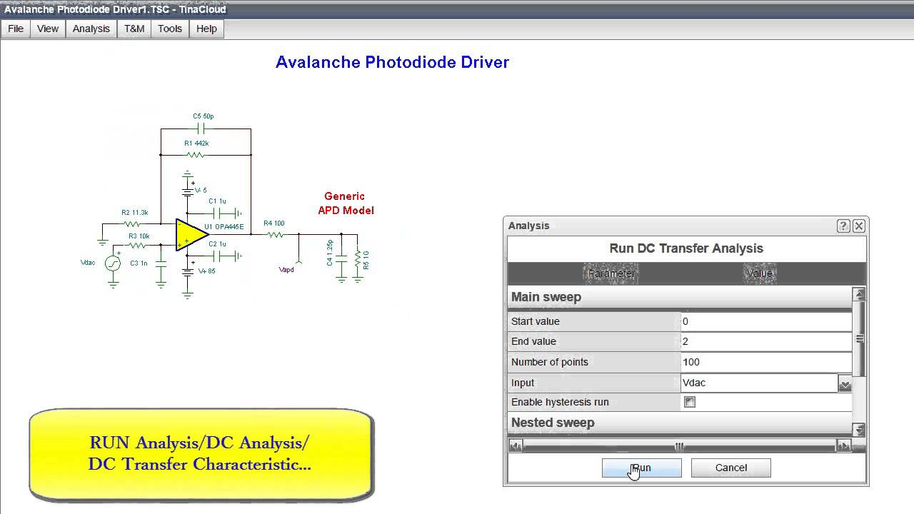 Avalanche Photodiode Working Avalanche Photodiode Driver
