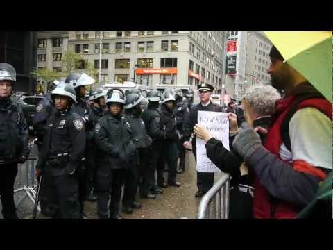 Occupy Wall Street - 2 Month Anniversary - November 17, 2011