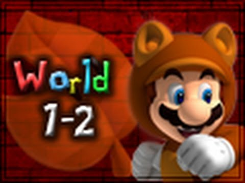 Super Mario 3D Land Walkthrough World 1-2