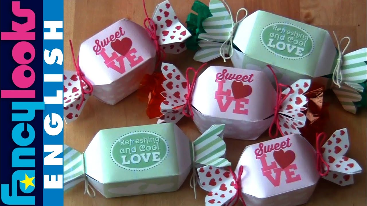 Download Cute Hearts Free Pattern For Candy Box Punch