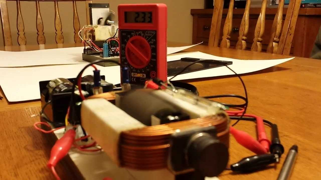 Magnetic Generator Motor Using Microwave Oven Parts Youtube