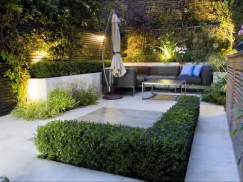 Dise o de jardines modernos hd 3d arte y jardiner a for Fotos de jardines de casas modernas