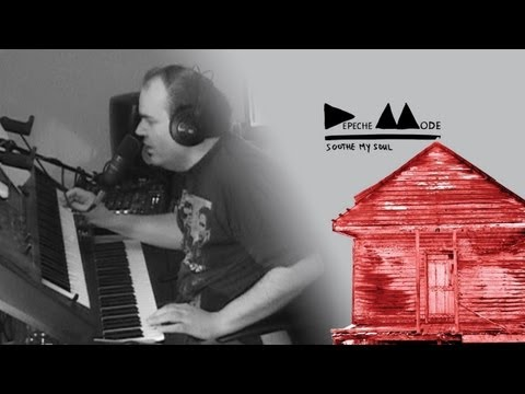Depeche Mode - Soothe My Soul LIVE COVER REMIX & Lyrics ( Delta Machine 2013 )