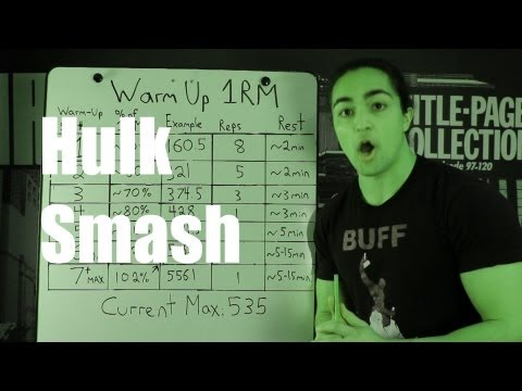 How To Warm Up For A 1 Rep Max: Practical Strength Rules video