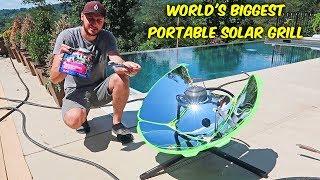 Testing Portable Solar Grill