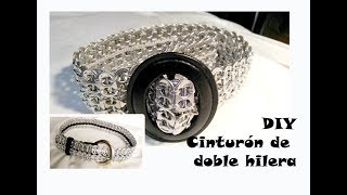 #DIY #Cinturon Doble Hilera