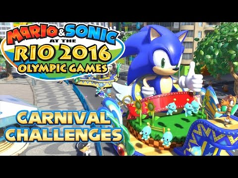 Mario & Sonic at the Rio 2016 Olympic Games Wii U - Carnival Challenges