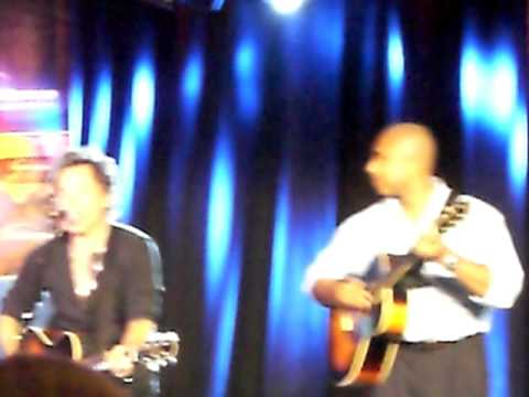 Bruce Springsteen, live glory days with bernie williams