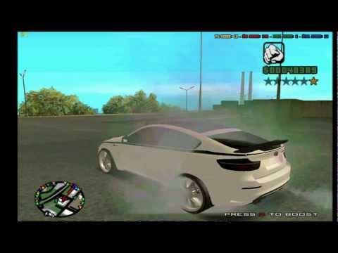 BMW X6 GTA San Andreas [MOD]