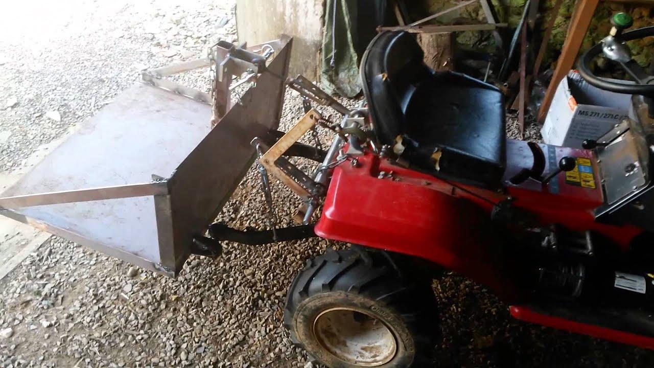 Relevage tracteur tondeuse by sebastien pi 2016 04 03 - Remorque de jardin pour autoportee ...