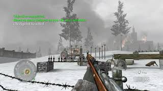 Call of Duty 2 gameplay (Xbox 360)