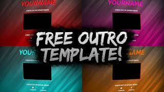 Remainfocus viyoutube clean free outro template psd free download free gfx pronofoot35fo Choice Image