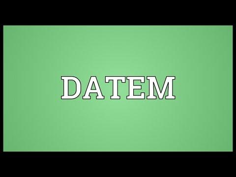 Header of datem