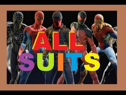*NEW* The Amazing Spider Man - How to Find - BLACK SUIT - VENOM COSTUME - Walkthrough