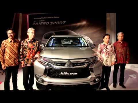 All New Pajero Sport Mengaspal di Indonesia