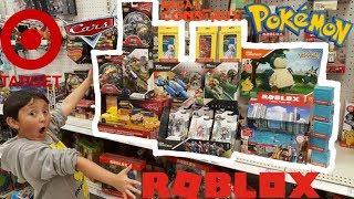 SHOPPING FOR THE BIGGEST TOY AND POKEMON CARD HAUL AT TARGET STORE!! SO MANY NEW & SUPRISE FINDS!!
