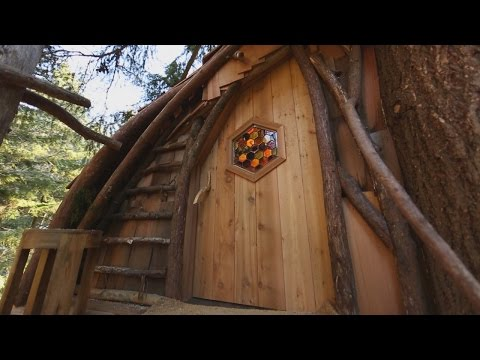 Time Lapse: Honeycomb Hideaway | Treehouse Masters