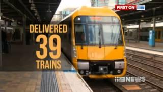 [Nine News Sydney] Waratah trains roll-out half way - 26/5/2013