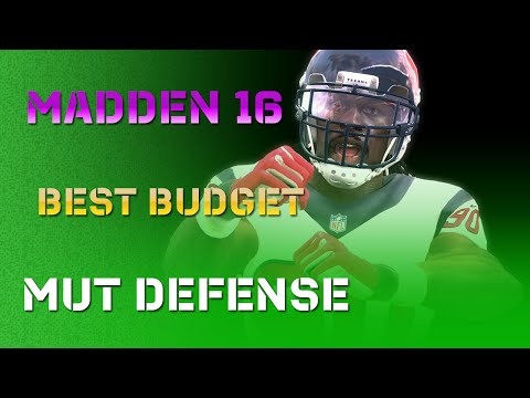 Madden 16 - Best MUT Budget Players on Defense! Gold Cards!