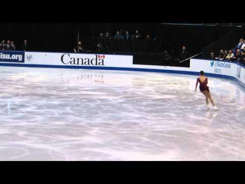 Christina Gao 2013 Skate Canada SP