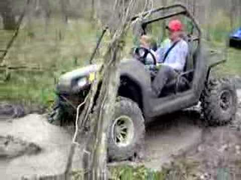 Cedar Bayou Boy's, RZR Going Down trail