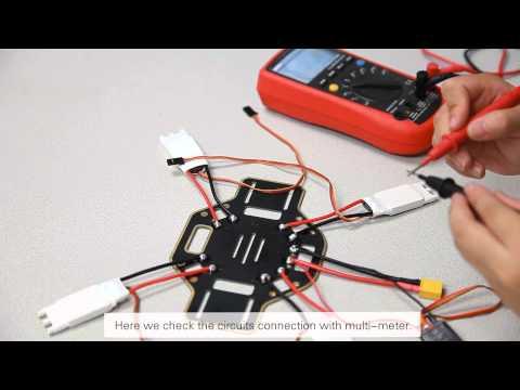 DJI F450 Setup Demo-Frame Assembly