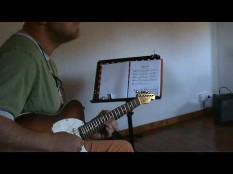 jazz guitar lessons w/ Mike Walker (triplet blues)