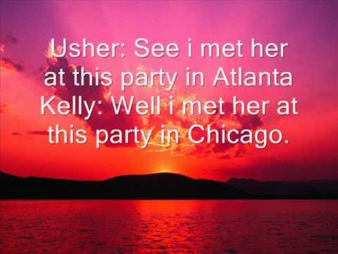 R Kelly and Usher- Same Girl Lyrics.wmv