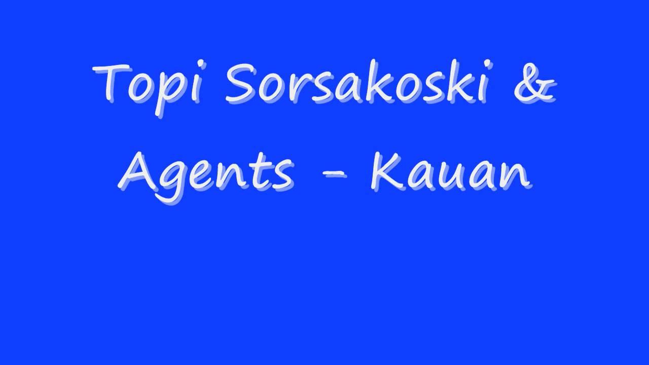 Topi Sorsakoski & Agents - Pop
