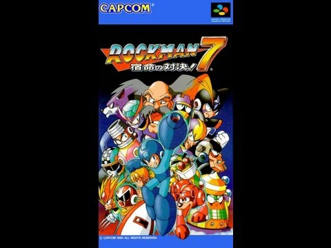 Megaman World 3 - Wily Stage 2(MM7 Remake)