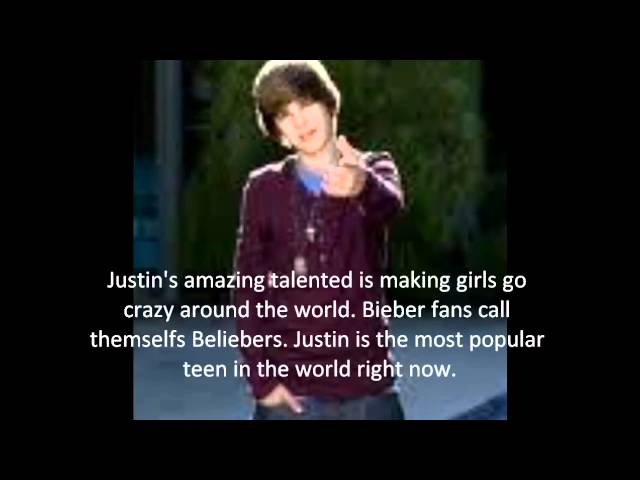 Justin Bieber Facts & Biography #1