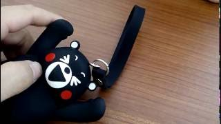 [開箱] 超超超可愛, 熊本熊多功能鎖包, KUMAMON Key Bag, くまモン [萊爾富集點]  20161004