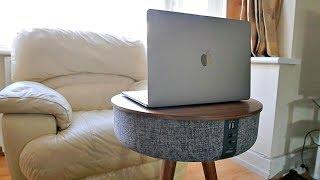 Amazing Bluetooth 360 Speaker Table / 88W / Wireless Charging / 6 Speakers
