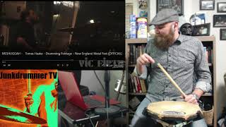 Drum Teacher Reacts to Tomas Haake - Meshuggah - Electric Red - Episode 63