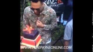 Chris Brown Surprise Party Video with Tyga  Karrueche and Friends
