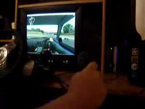 Logitech Attack 3 with Virtual H-Shifter