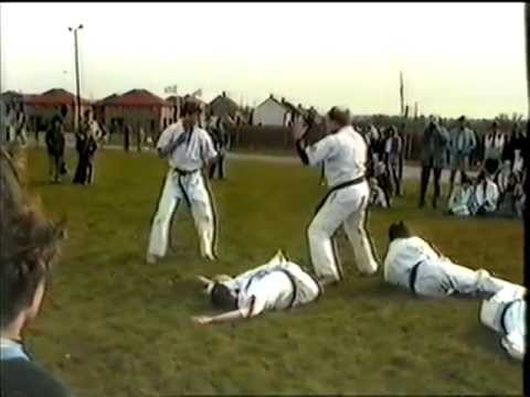 CHELMSFORD KYOKUSHIN KARATE DEMO HIGHLIGHTS 1985 Image 1
