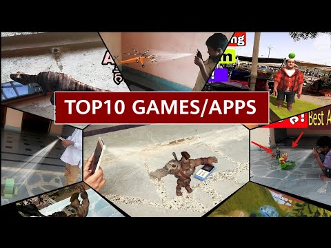Top 10 Amazing Android AR Apps and Games 2018