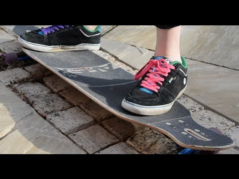 LongboardUK Trick Tips: Switch 180 Stand-up Slides