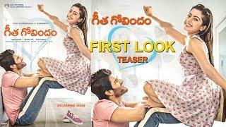 Vijay Devarakonda  Geetha Govindam First Look Teaser | Silcer Screen