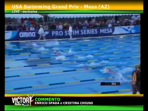 MICHAEL PHELPS 100m BUTTERFLY ARENA PRO SERIES MESA 2015-04-17
