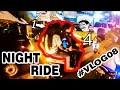 Motovlog #8 BONCENG BER 4!!  NIGHT RIDE(MALAM TAKBIRAN)