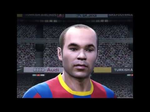 FIFA 11 player faces vs PES 2011