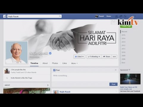PM's Facebook page bombed with hashtag calling for resignation