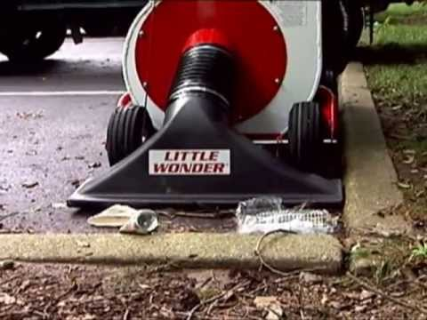 Little Wonder® High Performance Leaf & Debris Vacuum Clears Any Surface. Any Place