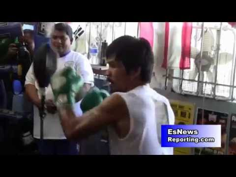 manny pacquiao i want the floyd mayweather fight - EsNews boxing