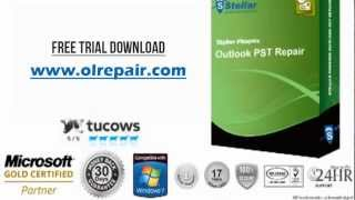 Stellar Phoenix Outlook PST Repair Free Trial