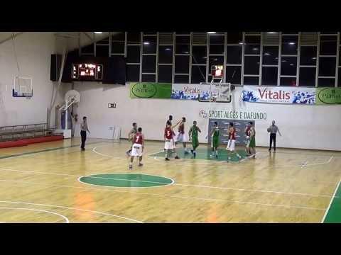 Basquetebol: Sub20 -  Alg�s x Benfica (1 e 2)