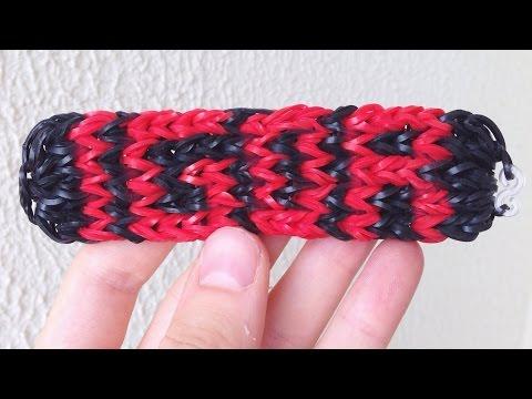 Como fazer pulseira de elásticos com nome (qualquer nome) sem tear